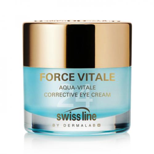Kem  điều trị nếp nhăn cho vùng mắt Swissline FV Aqua Vitale Corrective Cream