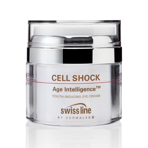 Kem siêu dinh dưỡng đặc trị trẻ hóa vùng mắt Swissline cell shock age intelligence youth inducing eye cream