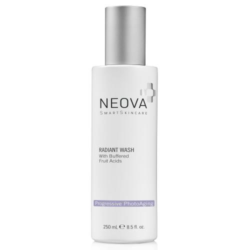 Sữa rửa mặt tái tạo và tinh khiết làn da Neova Radiant Wash With Buffered Fruit Acids