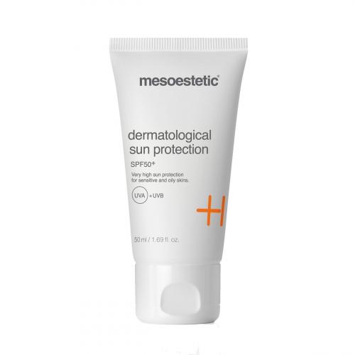 Kem chống nắng bảo vệ da chống lão hóa Mesoestetic dermatological sun protection spf 50+