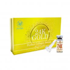 Tinh chất vàng 24K tái tạo và chống lão hóa da đột phá 24K gold perfect collagen serum