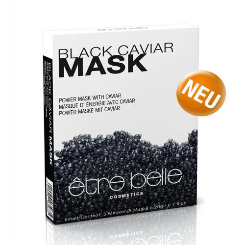 Mặt nạ trứng cá tằm đen trẻ hóa và tái tạo da đột phá Etre belle power mask with black caviar